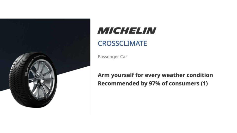 Mitchelin-crossclimate-tyre